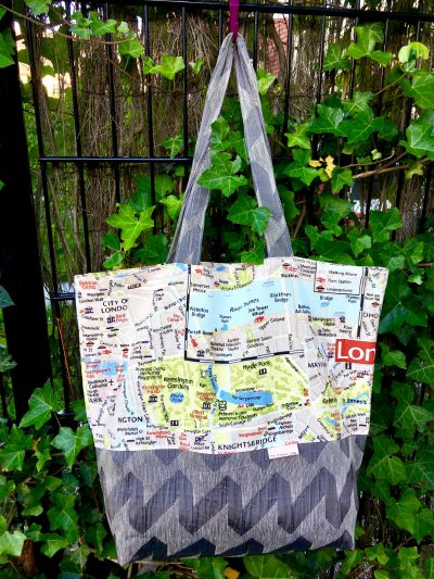 Mega Grote Tas – London Map