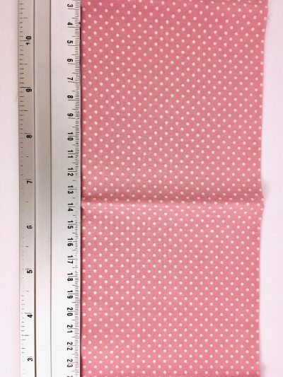 DIY Pakket Roze met witte stippen
