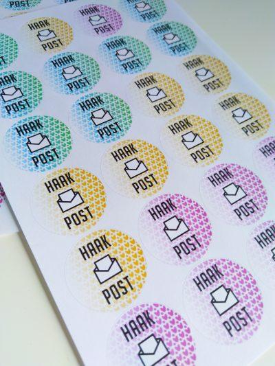 Vel Stickers: Haak Post (Noem je Prijs!)