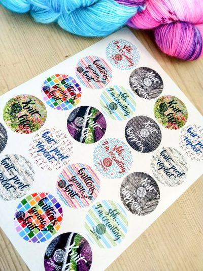 Stickers: Knitting (Noem je Prijs!)