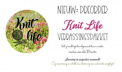 Preorder: Knit Life Verrassingspakket voor elk Budget